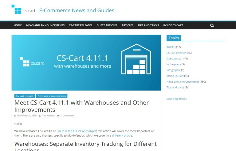 CS-Cart 4.11.1