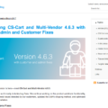 CS-Cart and Multi-Vendor 4.6.3