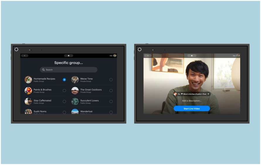 Facebook:Introducing Messenger Rooms and More Ways to Connect When You're Apartから