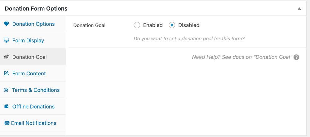 寄付目標(無効化)
