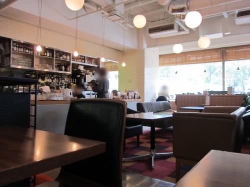 FREEMAN CAFE キッチン側