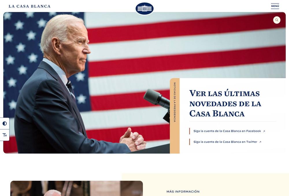 The White House:スペイン語