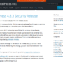 WordPress 4.8.3 Security Release