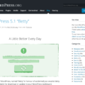"WordPress 5.1 ""Betty"""