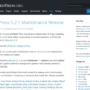 WordPress 5.2.1 Maintenance Release