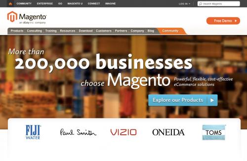 Magento 公式サイト