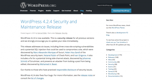 WordPress 4.2.4